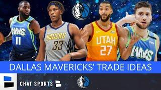 Dallas Mavericks Trade Rumors: Rudy Gobert Trade? Myles Turner To Dallas? Trade Tim Hardaway Jr.?