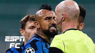 Inter Milan vs. Real Madrid reaction: Arturo Vidal's 'STUPID' red card costs Nerazzurri | ESPN FC