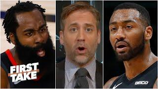 James Harden has to leave the Rockets, he will never win a title with John Wall - Max   First Take