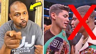 (OMG!) ROY JONES JR RANKS RYAN GARCIA AS A TOP FAVOURITE BUT DEVIN HANEY AS AN UPCOMING FIGHTER!