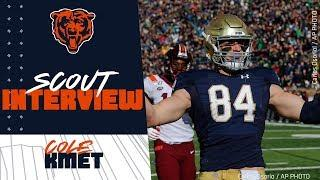 Scout gives insight on TE Cole Kmet   Chicago Bears