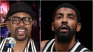 'Did you see those moves?!' - Jalen still gets fired up about Kyrie Irving's game | Jalen & Jacoby