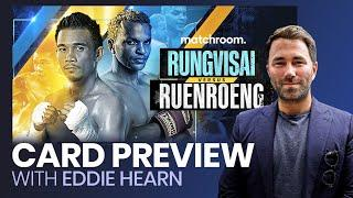 Eddie Hearn confirms Matchroom to live stream Rungvisai vs Ruenroeng on YouTube