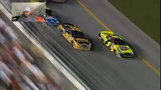 NASCAR's crazy Daytona finishes: Bubba Wallace watches along, reacts to famous moments