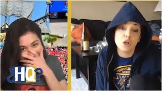 Patriots fan Katie Nolan reacts to Gronk being traded to Tampa Bay | Highly Questionable