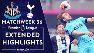Newcastle v. Tottenham | PREMIER LEAGUE HIGHLIGHTS | 7/15/20 | NBC Sports
