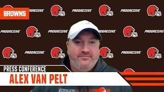 """Alex Van Pelt: (On Chubb and Hunt) """"It's like having two fighters in your corner."""""""