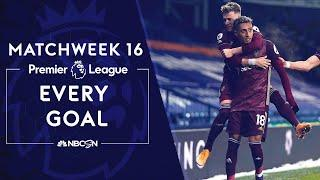 Every Premier League goal from Matchweek 16 (2020-2021) | NBC Sports