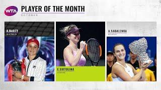 Player of the Month | October 2019 Nominees