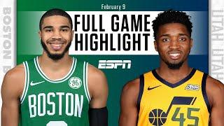Boston Celtics vs. Utah Jazz [FULL GAME HIGHLIGHTS] | NBA on ESPN
