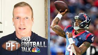 Chris Simms breaks down the art of the deep throw | Pro Football Talk | NBC Sports