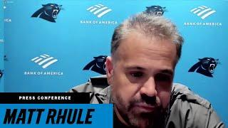 Matt Rhule: Myself, coaching staff take responsibility for today's result