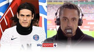 Gary Neville gives his honest opinion on Edinson Cavani joining Manchester United