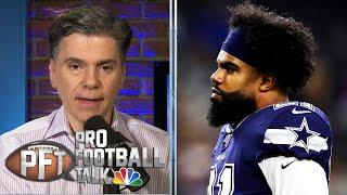 Ezekiel Elliott recovering from COVID-19, still can't work out | Pro Football Talk | NBC Sports