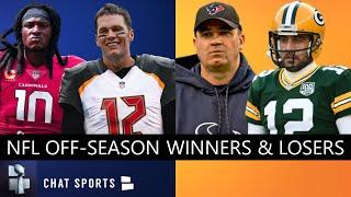 NFL Offseason Winners And Losers For 2020 - Ft. Bucs, Patriots, Packers, Saints, Dolphins & Ravens