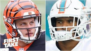 Joe Burrow or Tua Tagovailoa: First Take debates which rookie QB will make the biggest headlines