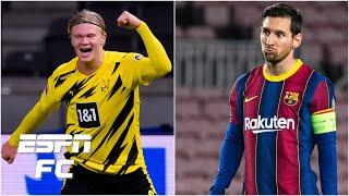 Would Erling Haaland be a better signing than Lionel Messi for Manchester City?   ESPN FC