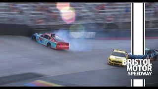 Bubba Wallace wrecks in All-Star Open | NASCAR at Bristol