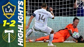 LA Galaxy 1-2 Portland Timbers | Chicharito's First MLS Goal, Shocking Penalty! | MLS HIGHLIGHTS