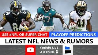 NFL Daily - Live News & Rumors With Mitchell Renz & Harrison Graham (Sep. 2)
