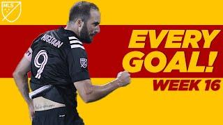 Gonzalo Higuain First MLS Goal is a Stunner and Portland Timbers Score Six