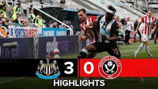 Newcastle United 3-0 Sheffield United | Premier League highlights