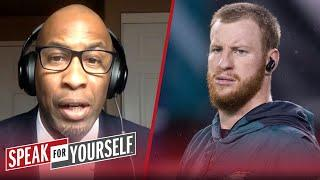 Carson Wentz makes Colts legit contenders in AFC — Bucky Brooks | NFL | SPEAK FOR YOURSELF