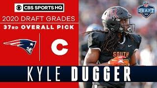 The Patriots get a TACKLING MACHINE in Kyle Dugger with the 37th overall pick | CBS Sports HQ