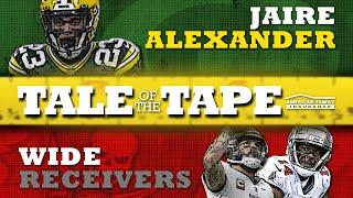 Jaire Alexander vs. Bucs Wide Receivers: Tale of the Tape | Green Bay Packers