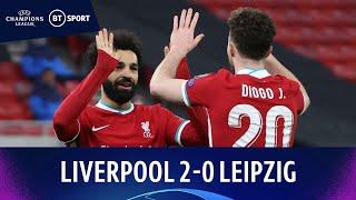 Liverpool v RB Leipzig (2-0)   Salah and Mané scores as Reds progress   Champions League Highlights
