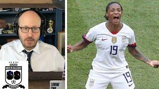 Men in Blazers: Kim Crabbe's experience as first Black USWNT player   NBC Sports