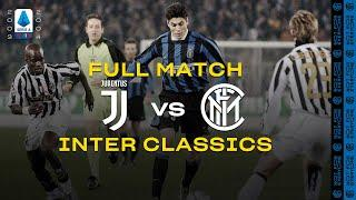 INTER CLASSICS | FULL MATCH | JUVENTUS vs INTER | SERIE A 2003/04 [with JULIO CRUZ]