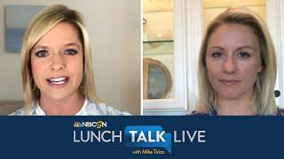 Rebecca Lowe opens up about Premier League return, Olympic experience | Lunch Talk Live | NBC Sports