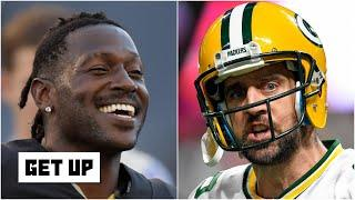 Should the Packers sign Antonio Brown to help Aaron Rodgers?   Get Up