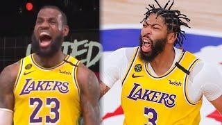 Anthony Davis & Lebron James LOSE THEIR MINDS After Clutch Win In Game 4! | NBA FINALS 2020