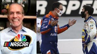 Elliott, Logano incidents show value of Cup wins | NASCAR America at Home | Motorsports at NBC