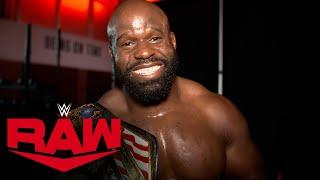 Apollo Crews dedicates win to his family: Raw Exclusive, May 25, 2020