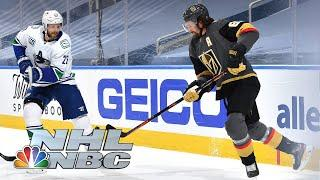 NHL Stanley Cup Second Round: Canucks vs. Golden Knights | Game 7 EXTENDED HIGHLIGHTS | NBC Sports