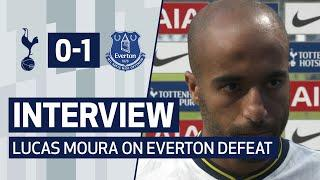 INTERVIEW | LUCAS MOURA ON EVERTON DEFEAT | Spurs 0-1 Everton