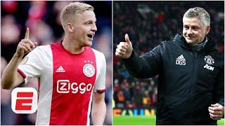 Donny van de Beek SIGNS for Manchester United! Where Solskjaer see's him fitting | ESPN FC