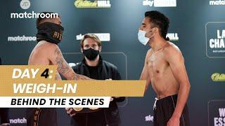 Fight Week, Day 4: Ritson vs Vazquez - Weigh In (Behind The Scenes)
