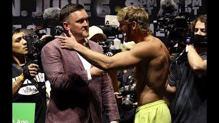 """""""HE GOT EVERYTHING TO LOSE!"""" LOGAN PAUL CONFIDENT POST WEIGH-IN, SAYS FLOYD MAYWEATHER AIN'T READY"""
