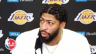 Anthony Davis is confident the Lakers' offense will turnaround before playoffs | NBA on ESPN