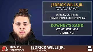 Cleveland Browns Select OL Jedrick Wills From Alabama With Pick #10 In 1st Round Of 2020 NFL Draft