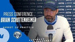 Brian Schottenheimer 2020 Training Camp August 25th Practice Press Conference
