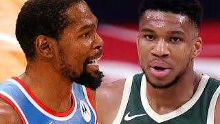 Giannis Antetokounmpo Gives His Honest Opinion On Kevin Durant James Harden Nets Superteam