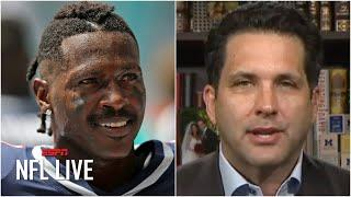 The Seahawks are positioned to make a push to sign Antonio Brown - Adam Schefter | NFL Live