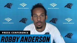 Robby Anderson speaks about the locker room culture in Carolina