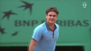 Tennis Channel Live: 2009 French Open Rewind: Federer Completes Career Grand Slam