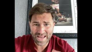'F***** HYPOCRITES. IF HE'S F**** UP GET RID OF HIM - BUT LEAVE HIM ALONE' - EDDIE HEARN ON CUMMINGS